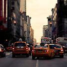 NYC Taxi by thomasrichter