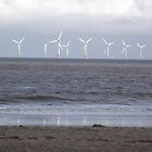 Reflections on Wind Power - Skegness by Stephen Willmer