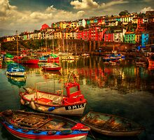 Brixham Boats by ajgosling