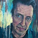 """Christopher Walken"" - stylized oil portrait by J PH"