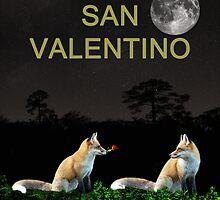 san valentino, Eftalou Foxes be my valentine, by Eric Kempson