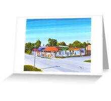 Planet Follywood, Folly Beach, SC Greeting Card