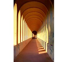 Endless archways Photographic Print