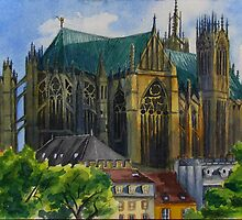 Portrait of a Cathedral - Metz by Jamie Alexander