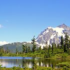 """Mount Shuksan Spring"" by Lynn Bawden"