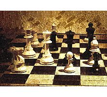 Chess Strategy   Photographic Print