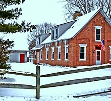Little Red School House by Kate Adams