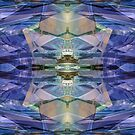 Abstract In Blue II by Hugh Fathers