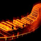 Red Hot Piano 2 by clearviewstock