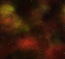 Deep Red Nebula by clearviewstock