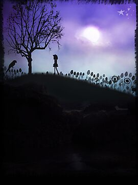 Alone on a hill. by Rookwood Studio ©