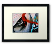 The Letter Eye Framed Print