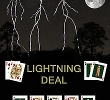 Lightning Deal, Poker Cards by Eric Kempson