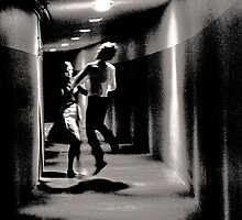 Dancers in the Dark 1965 by Rick Gold