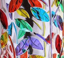*Glass Leaves on Glass* by DeeZ (D L Honeycutt)