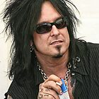 Nikki Sixx - Motley Crue by Musicphoto-it