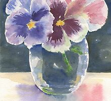 Pansies by Marsha Elliott