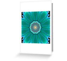 Sea Flower Greeting Card