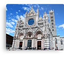 Siena's Duomo-Tuscany Metal Print