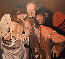 Thomas from Michelangelo Caravaggio by Jsimone