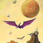 Pterodon by Anton Van Dort