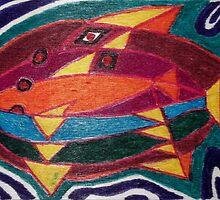 Dali fish - original work on soft wood by TonyBroadbent