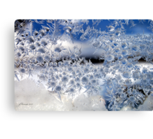 Crystal Blue Persuasion Canvas Print