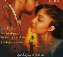 Cinderella Drama Poster by Patricia Anne McCarty-Tamayo