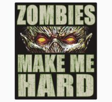 Zombies Make Me...Sticker by ShantyShawn