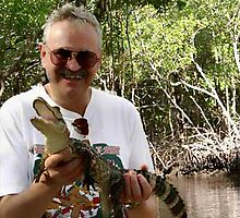 Gator and I by Wilf Kordts