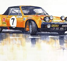 Porsche 914-6 GT Rally by Yuriy Shevchuk