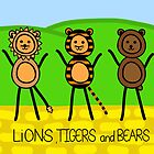 lions tigers and bears by Courtney Taylor