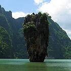 James Bond Island (Man with the Golden Gun !) by John Dalkin