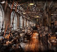 Machinist - A fully functioning machine shop  by Mike  Savad