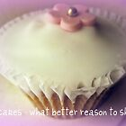 Cupcakes - What better reason to share? by JoAndCoCards