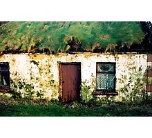 Clare cotttage Photographic Print