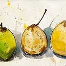 Three Pears by Aleksandra Kabakova
