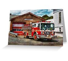 Fireman - Union Fire Company 1  Greeting Card