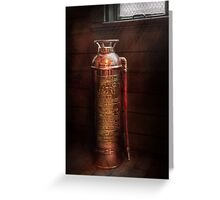 Fireman - Alert  Greeting Card