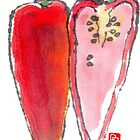 Chili Pepper Heart by dosankodebbie