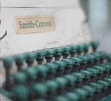 vintage Smith Corona by Maureen Nichols