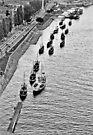 Porto's boats by Nayko