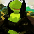 Mona Frog by GeekCupcake