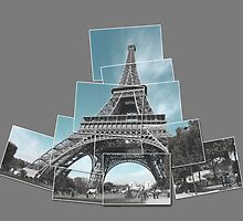 Eifel Tower - Paris - Snapshot collage by newshamwest
