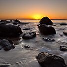 Hinsby Beach Sunrise by Chris Cobern