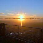 Winter sun on the moors by Meladana
