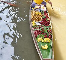 Damnoen Saduak _ Floating Market by Shubd