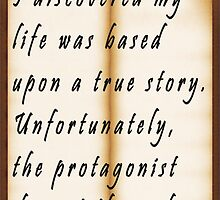 Biographical Self-Discovery by Darren Stein