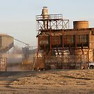 Cotton Gin at Roaring Springs, Texas by Susan Russell