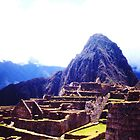 Machu Picchu by Lee Gunderson